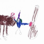 Hut on Hen's Legs and Baba Yaga by Tom age 5