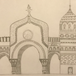 1st Prize Great Gate of Kiev by Mayank age 10