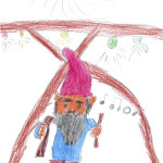 The Gnome by Claudia age 6