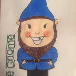 1st Prize The Gnome by Jess age 13