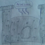 The Old Castle by Chloe age 8