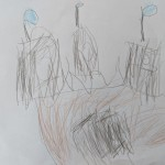 The Old Castle by Eleanor age 3