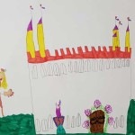 The Old Castle by Alice age 5