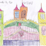 Special Prize The Old Castle by Alice age 8